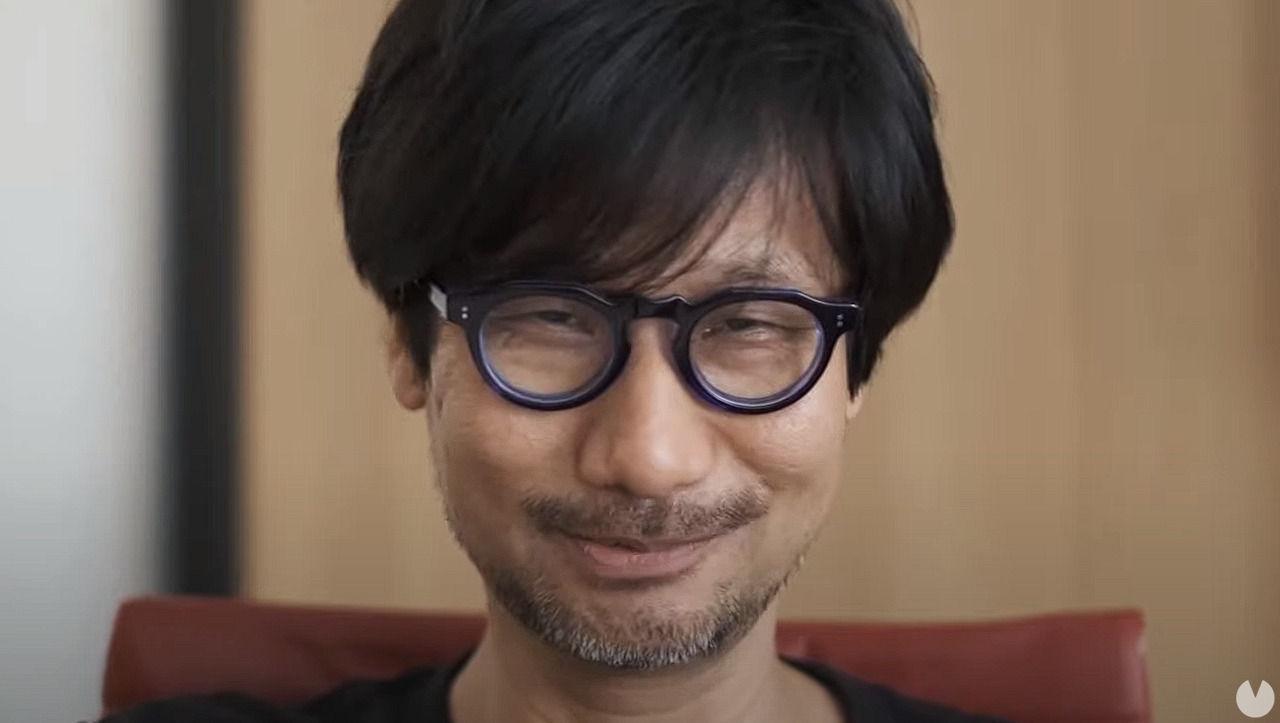 Hideo Kojima en la gala de The Game Awards.