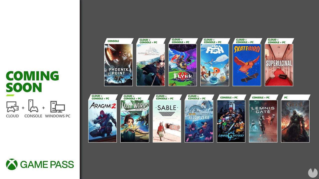 Xbox Game Pass anuncia los 13 nuevos juegos que recibirá en la segunda tanda de septiembre