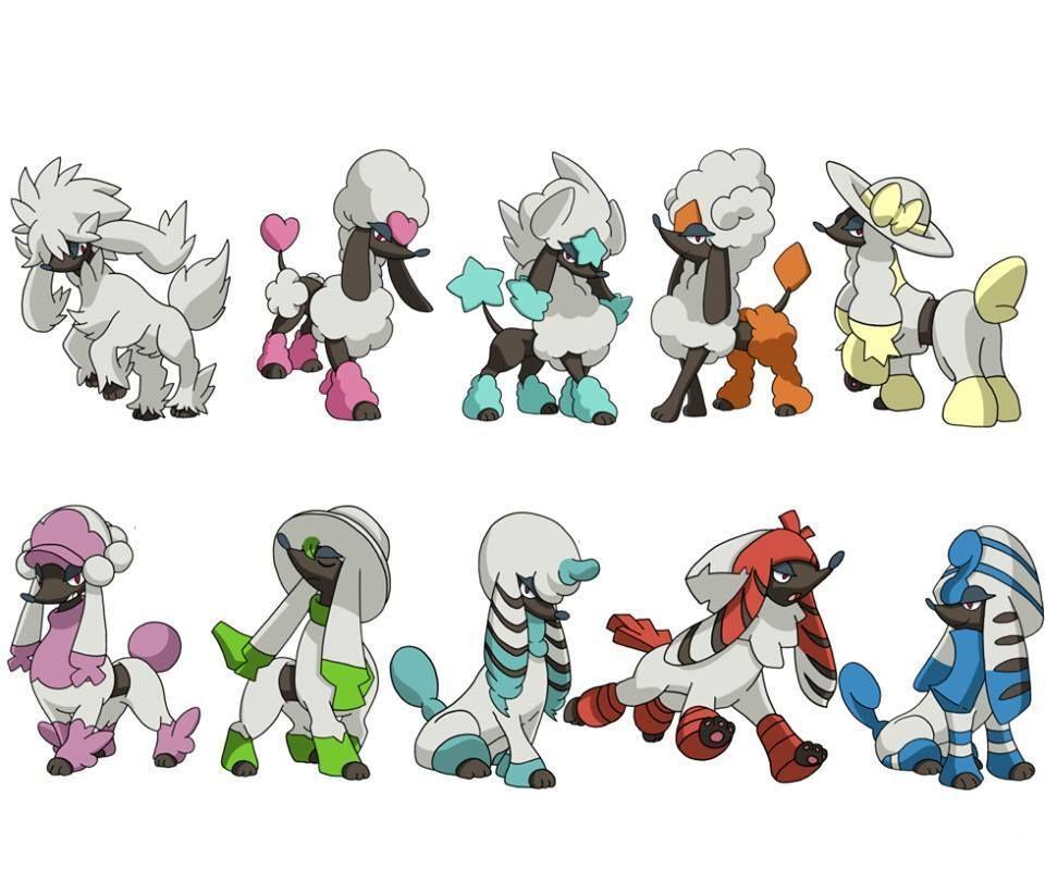 Furfrou debuta en Pokémon GO junto con sus formas