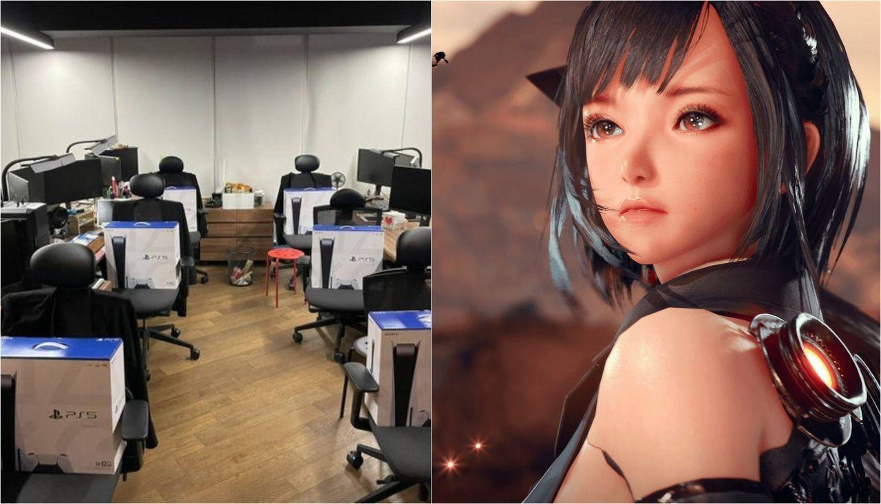 Project Eve: El director regala 260 PS5 en el estudio para celebrar su anuncio