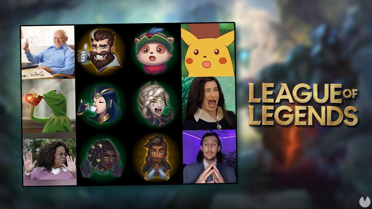 League of Legends regalará emotes inspirados en memes en los drops de los Worlds 2021