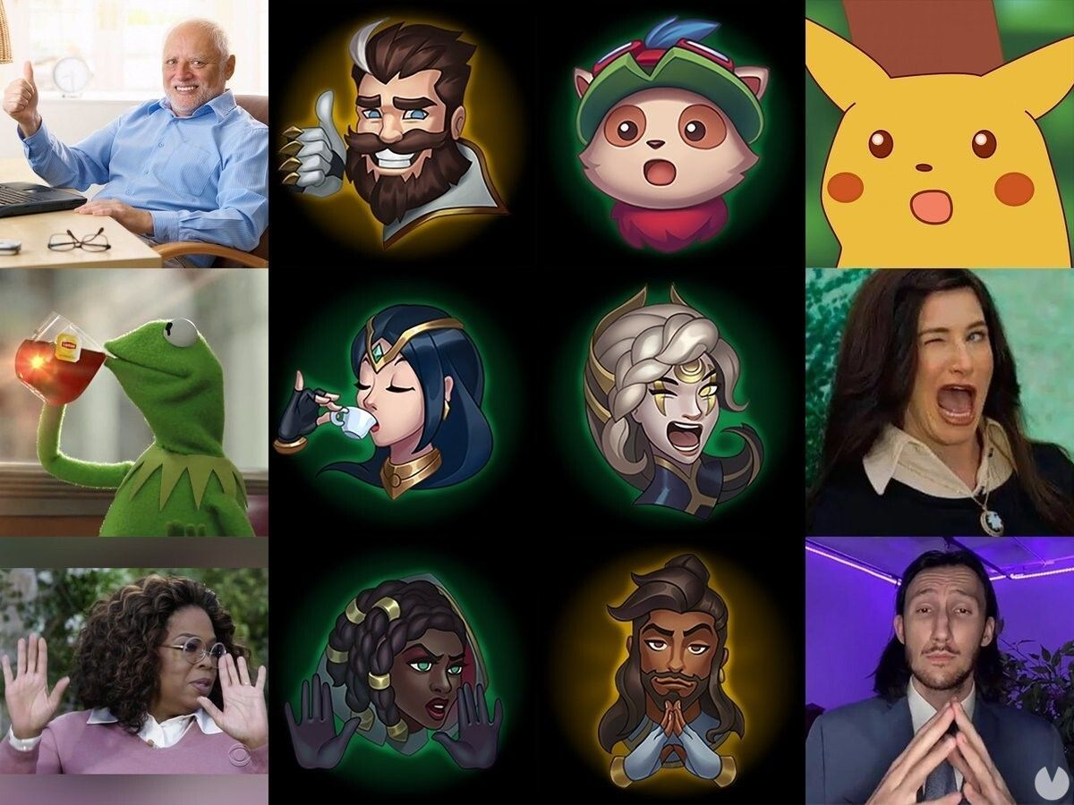 League of Legends - emoticonos inspirados en memes