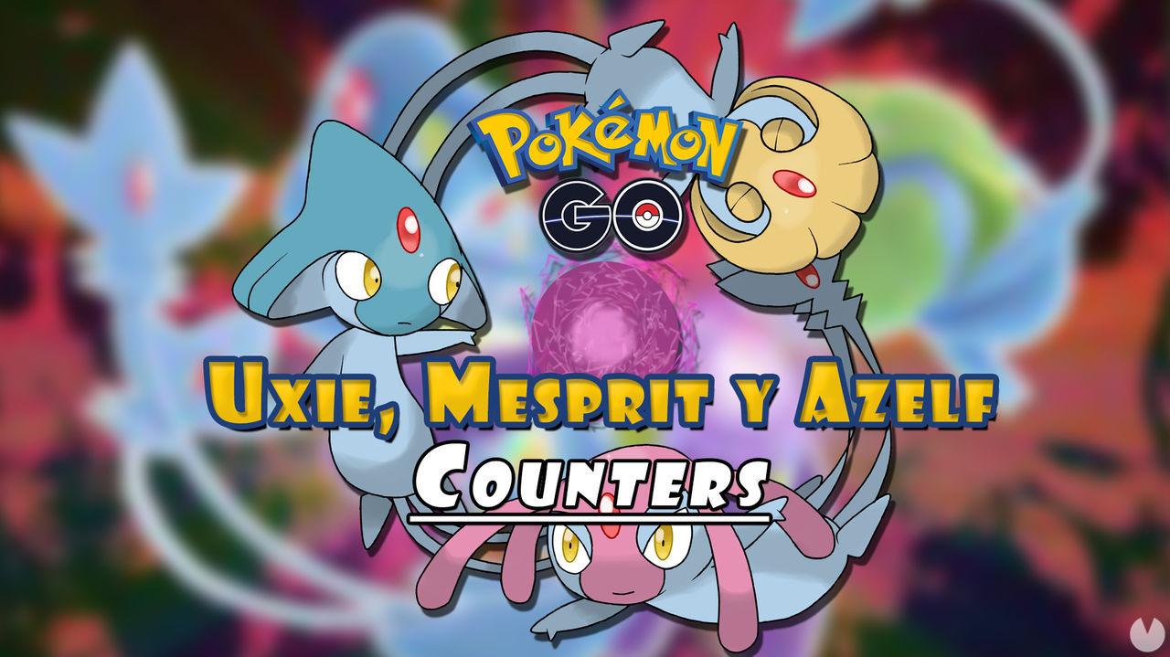 Pokémon GO: ¿Cómo vencer a Uxie, Mesprit y Azelf en incursiones? Counters (2021)