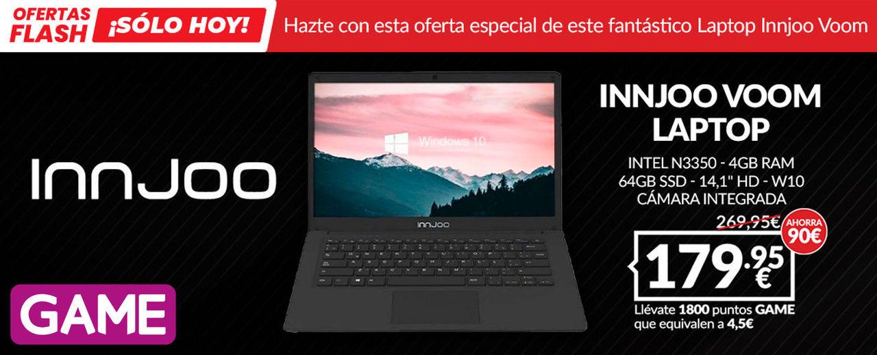 GAME España anuncia un portátil para jugar y estudiar como su oferta flash de hoy