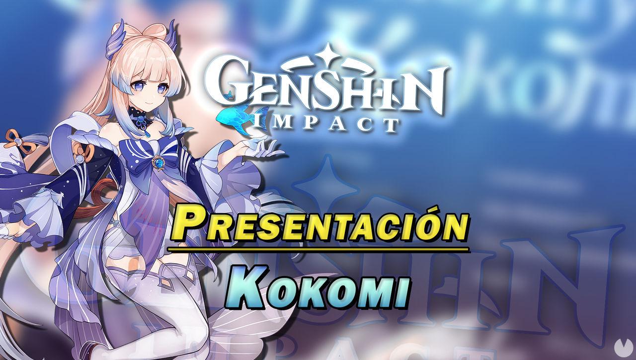 Genshin Impact: Nuevo tráiler de Sangonomiya Kokomi, habilidades y detalles