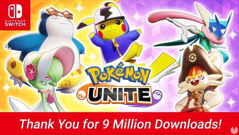 Pokémon Unite ya supera los 9 millones de descargas y regala 2.000 tickets Aeos