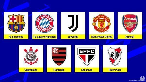 Equipos eFootball 2022