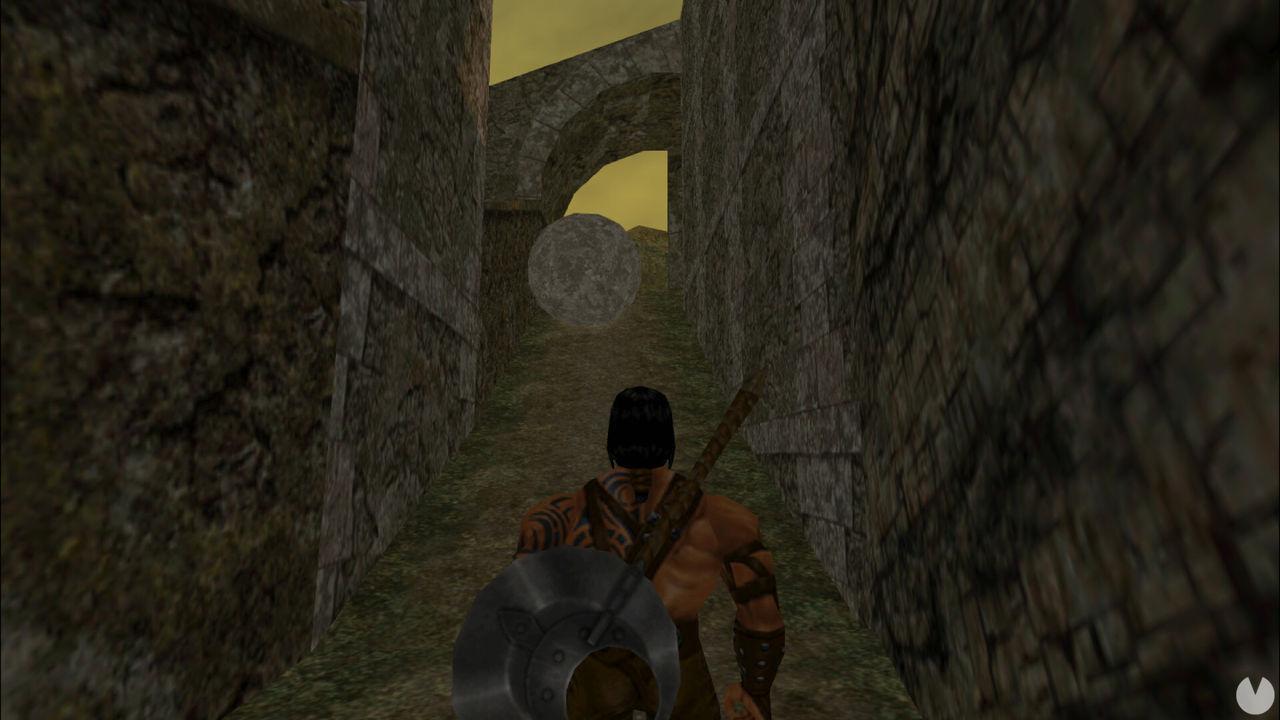 Captura de Blade of Darkness.
