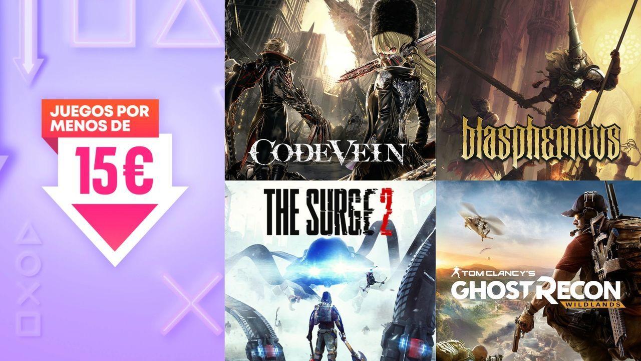 Ofertas juegos de PS4 por menos de 15 euros: Code Vein, Resident Evil 7, The Surge 2...