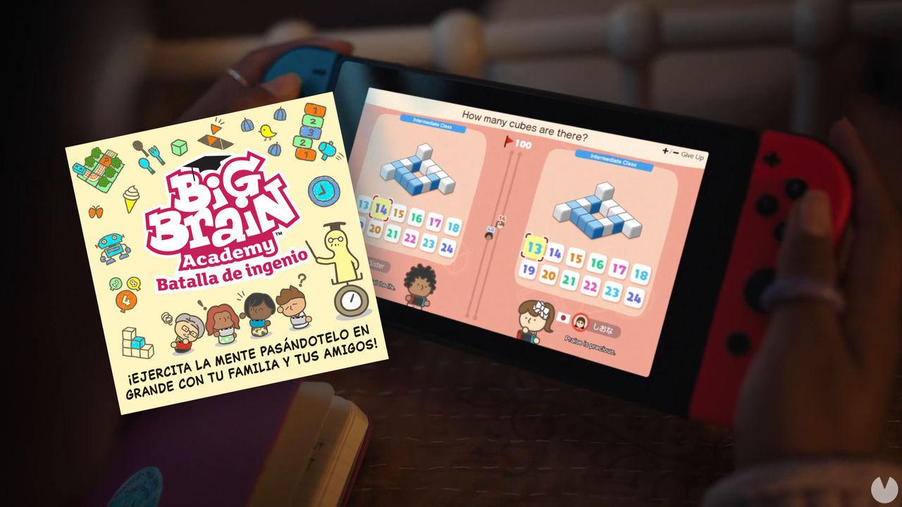 Big Brain Academy: Batalla de Ingenio ejercitará tu mente el 3 de diciembre en Switch