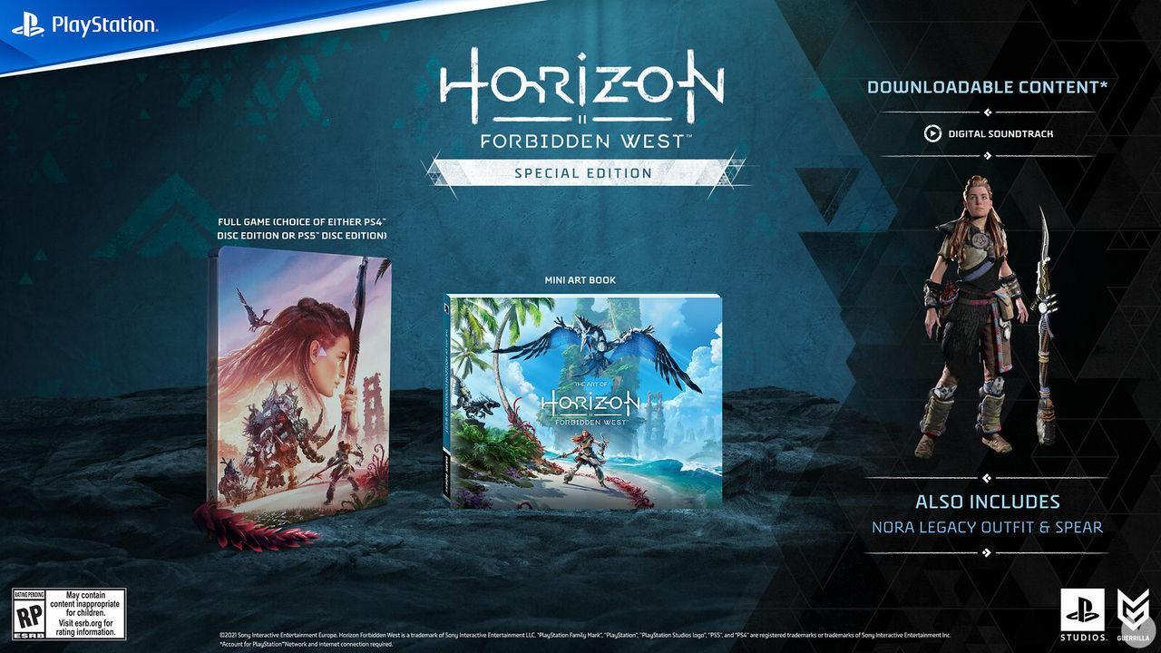Special Edition de Horizon Forbidden West.