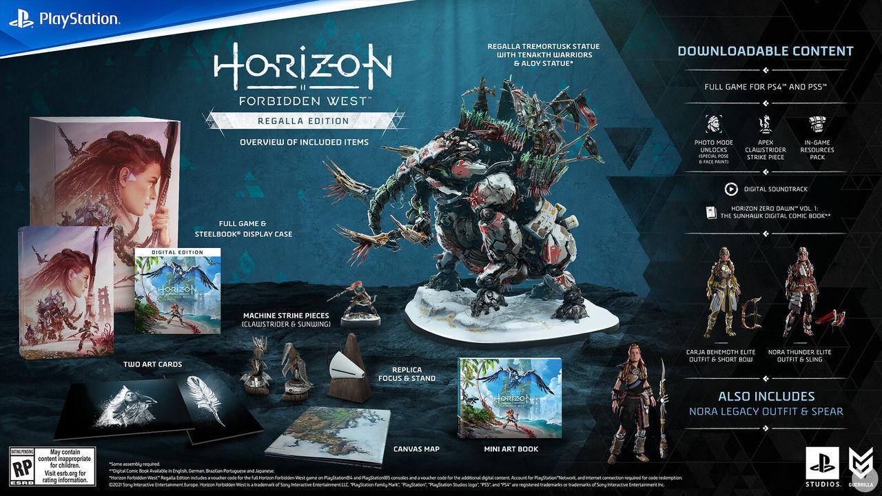 Edición Regalia de Horizon Forbidden West.