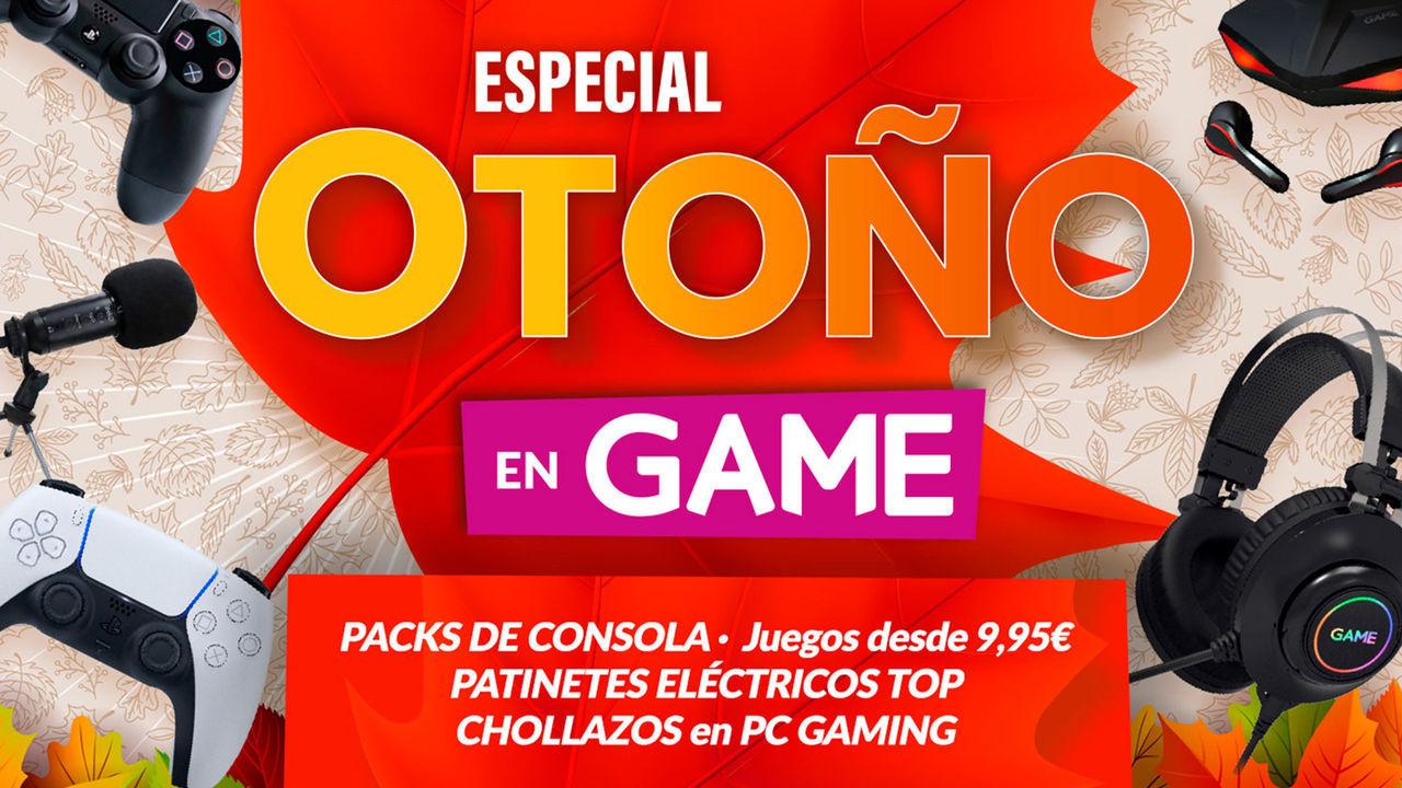 Llegan las ofertas de otoño en GAME con packs de consola, videojuegos, PC gaming y más