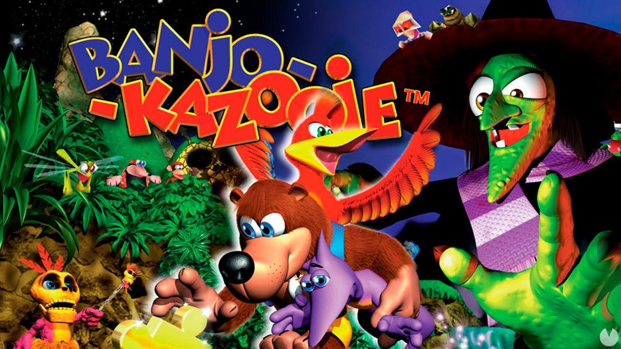 Banjo-Kazooie de Nintendo 64 formará parte de Switch Online y Rare lo celebra