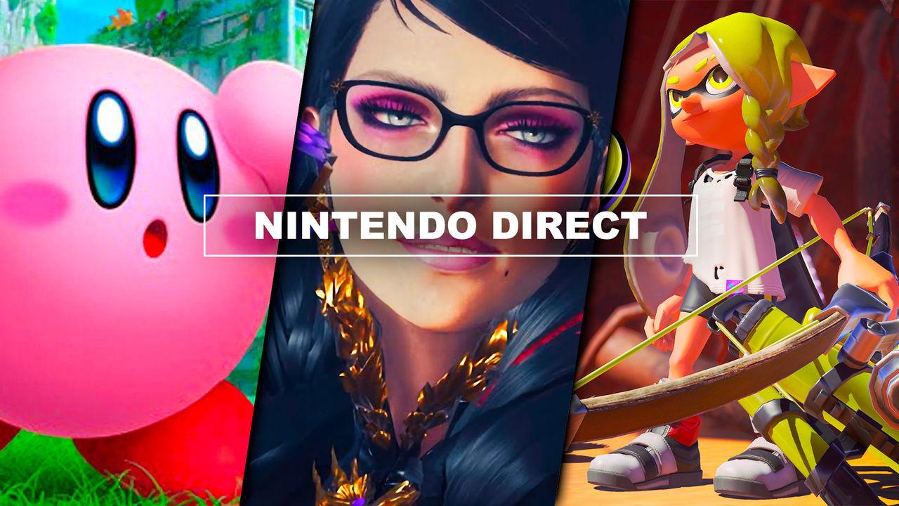 Resumen Nintendo Direct: Bayonetta 3, Kirby 3D, Splatoon 3, N64 y Mega Drive en Switch Online