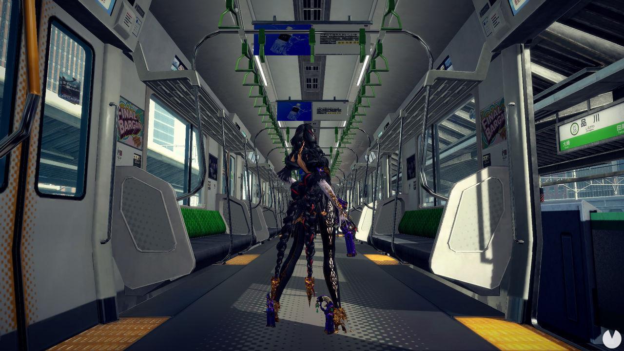 Captura del gameplay de Bayonetta 3.