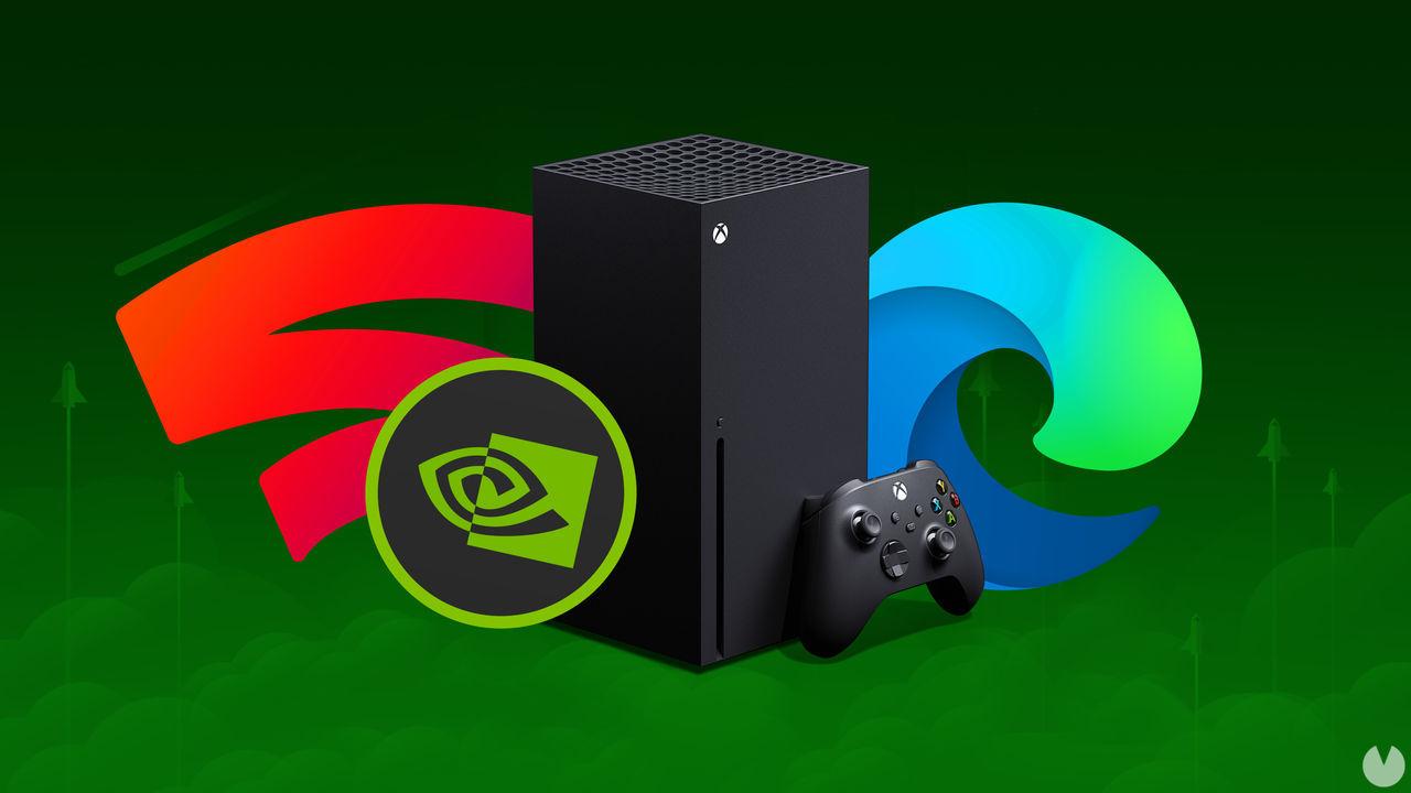Stadia y GeForce Now llegan a Xbox Series X/S y Xbox One gracias a Microsoft Edge