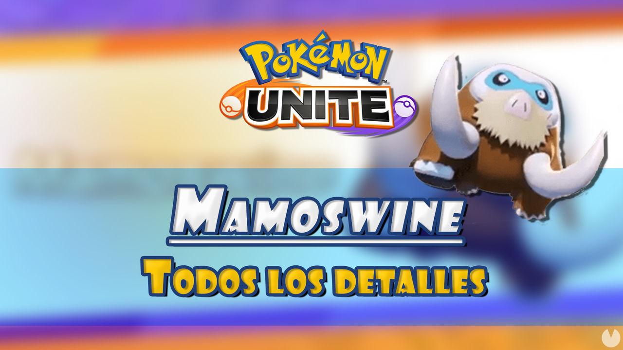 Pokémon Unite: Tráiler de Mamoswine, fecha de lanzamiento y habilidades confirmadas