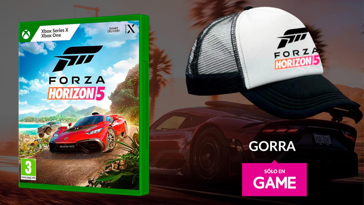Reserva Forza Horizon 5 en GAME y llévate una gorra exclusiva