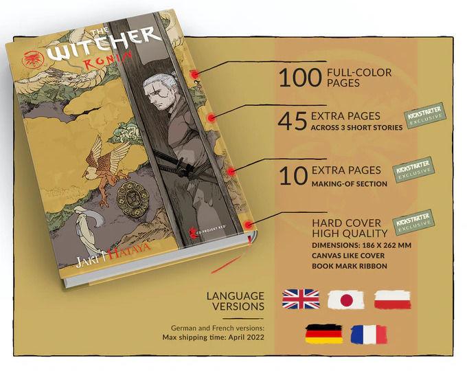The Witcher Ronin, el manga