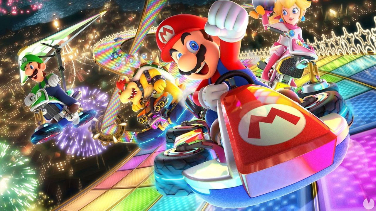 Mario Kart 8: Deluxe es el juego más vendido de Reino Unido en la última semana