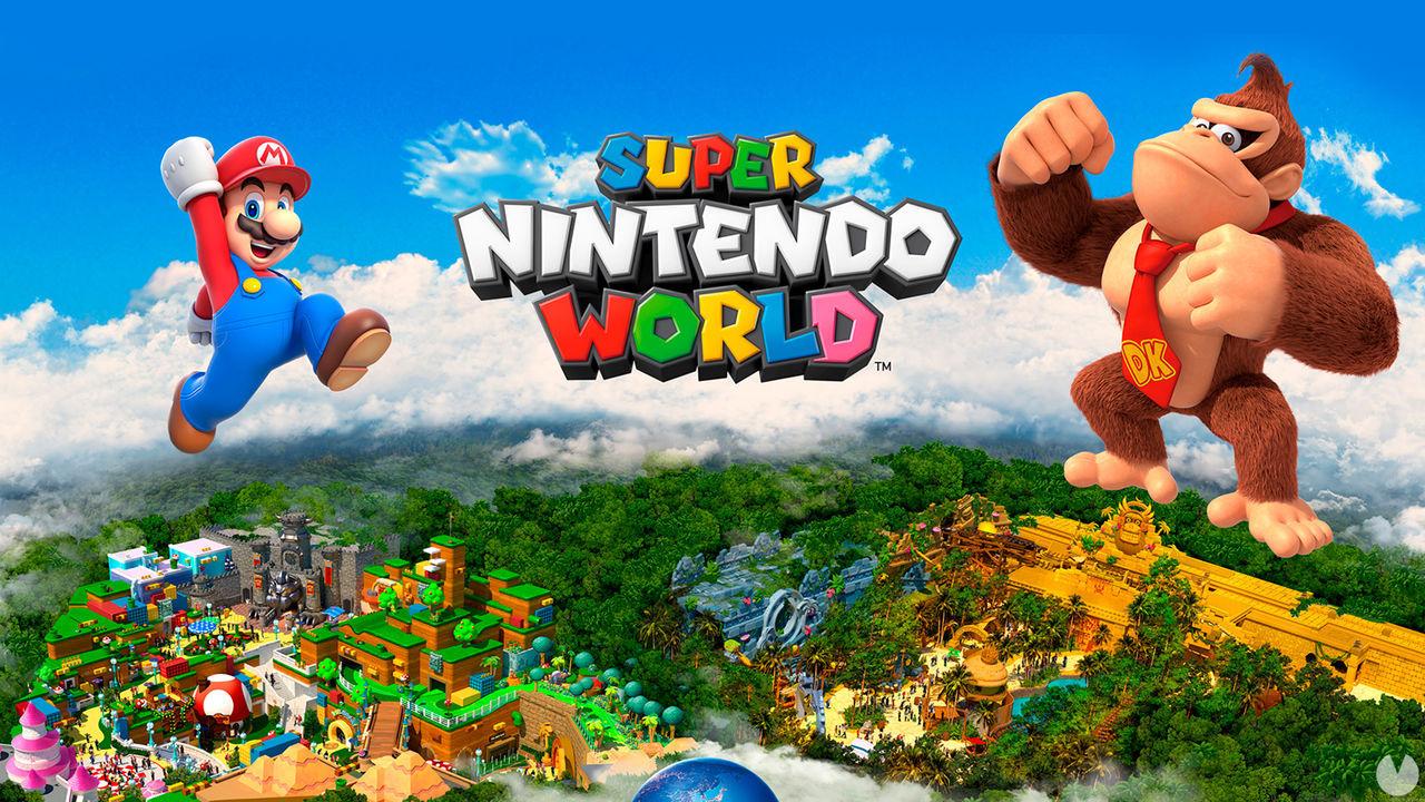 Super Nintendo World en Japón se ampliará con una zona dedicada a Donkey Kong