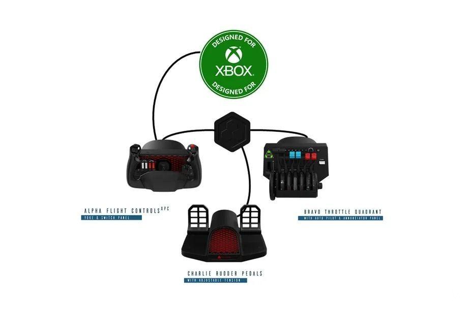 Honeycomb Xbox Hub