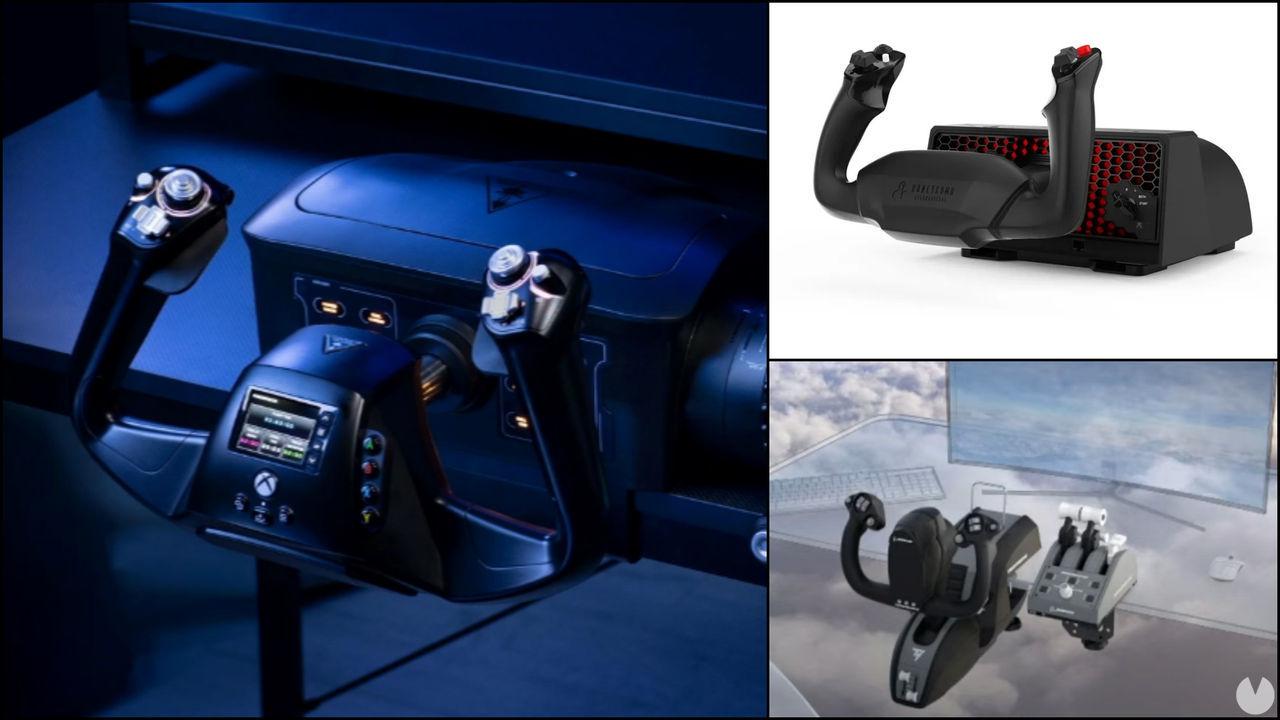 Microsoft Flight Simulator: Anunciados tres nuevos mandos compatibles con Xbox