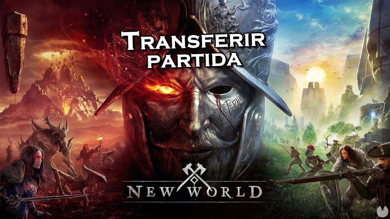 New World permitirá migrar gratis nuestra partida a otro servidor próximamente