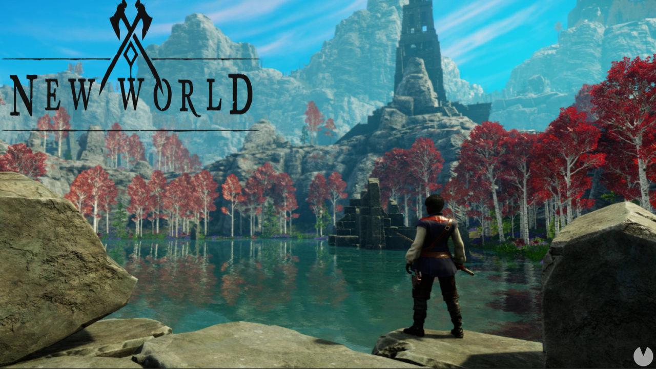 New World no tiene una mecánica para nadar, pero se puede correr bajo el agua