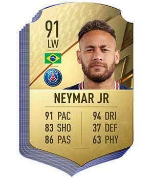 FIFA 22 - Les meilleurs joueurs de Ligue 1 Neymar Jr