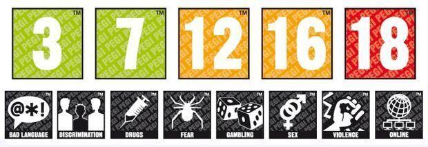 PEGI 18 para juegos de azar
