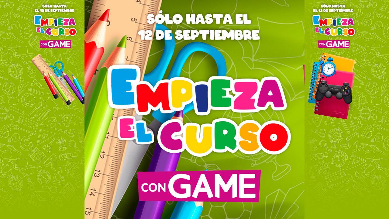 GAME inicia las ofertas 'Empieza el curso' en juegos, packs de consolas, pc gaming y más