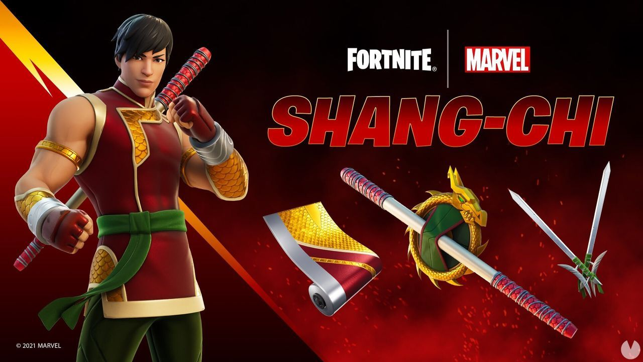 Skin de Shang-Chi: todos los contenidos