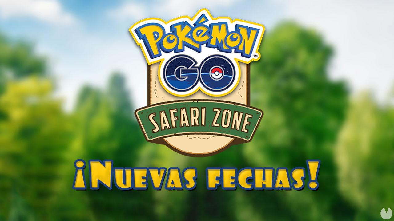 Pokémon GO: Nuevas fechas reprogramadas para los eventos de Zona Safari 2021