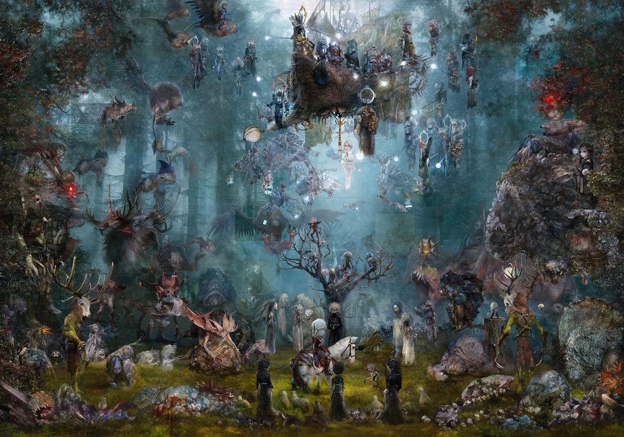 CD Projekt pone a la venta un cuadro oficial de The Witcher 3 valorado en 20.000 dólares