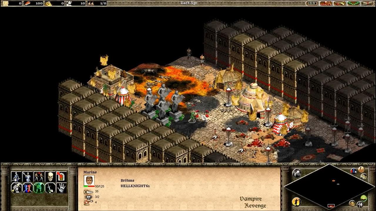 DOOM se convierte en un juego de estrategia usando el motor de Age of Empires 2