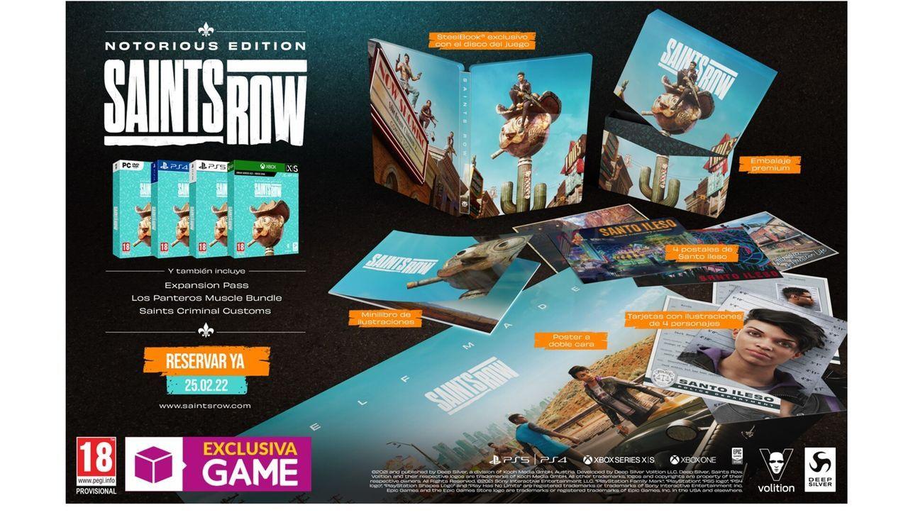 GAME detalla el contenido de la Notorious Edition para Saints Row