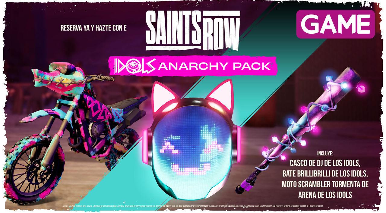 Anarchy Park de Saints Row en GAME