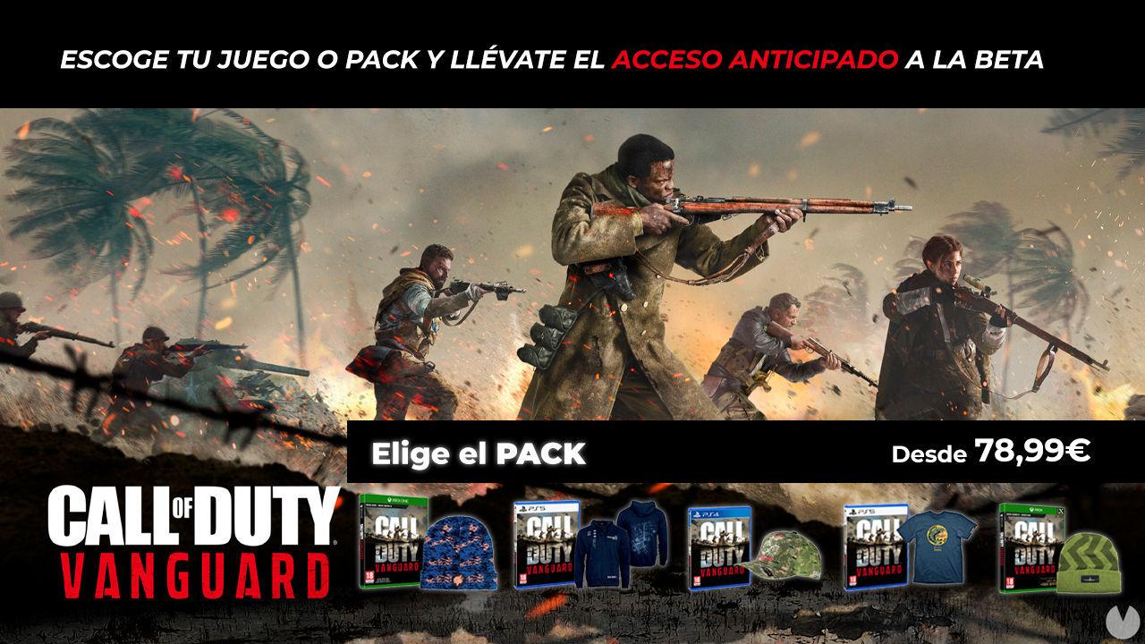 Reserva Call of Duty: Vanguard a precio reducido en TTDV y obtén acceso a la beta