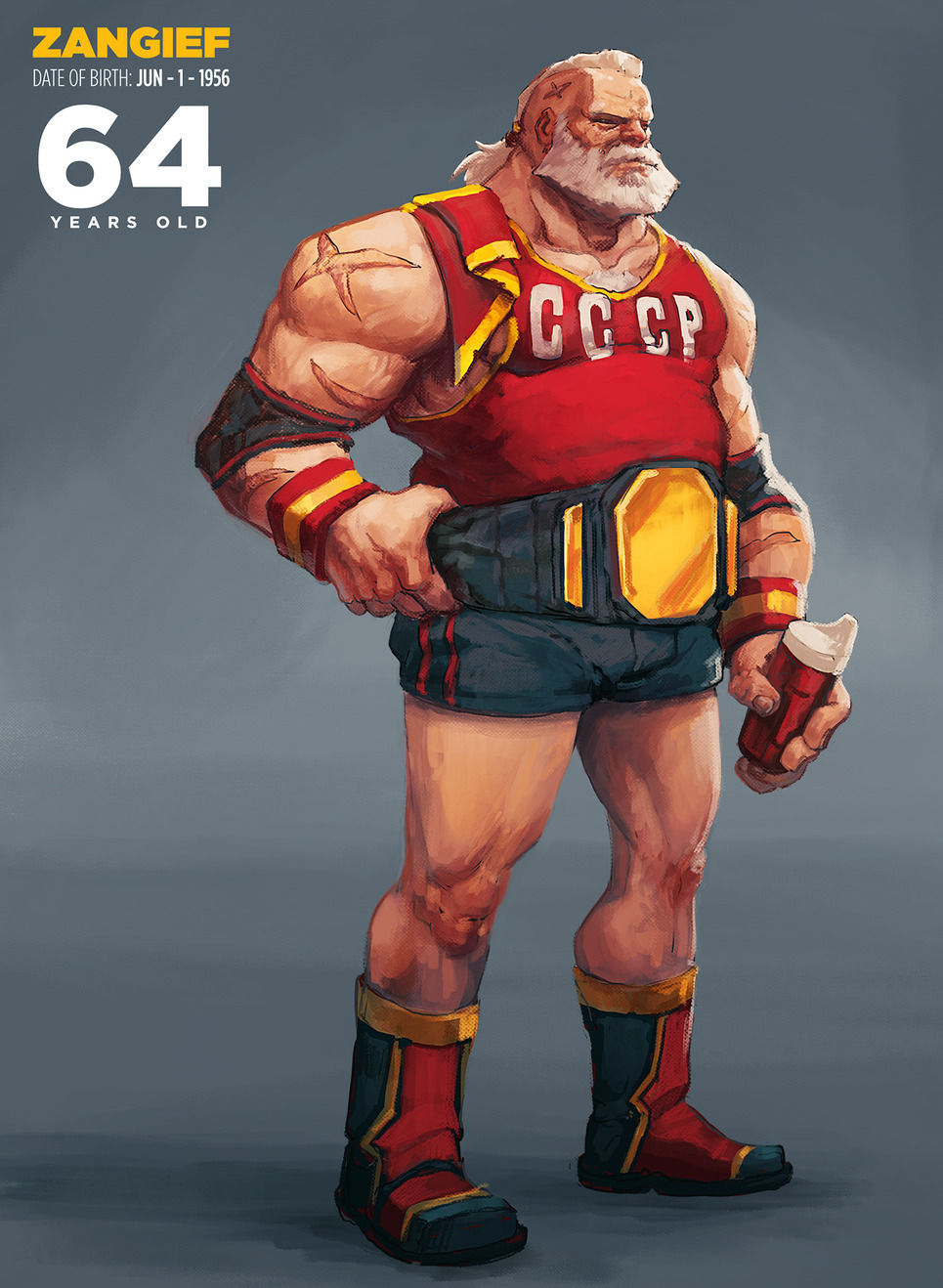 Zangief de Street Fighter