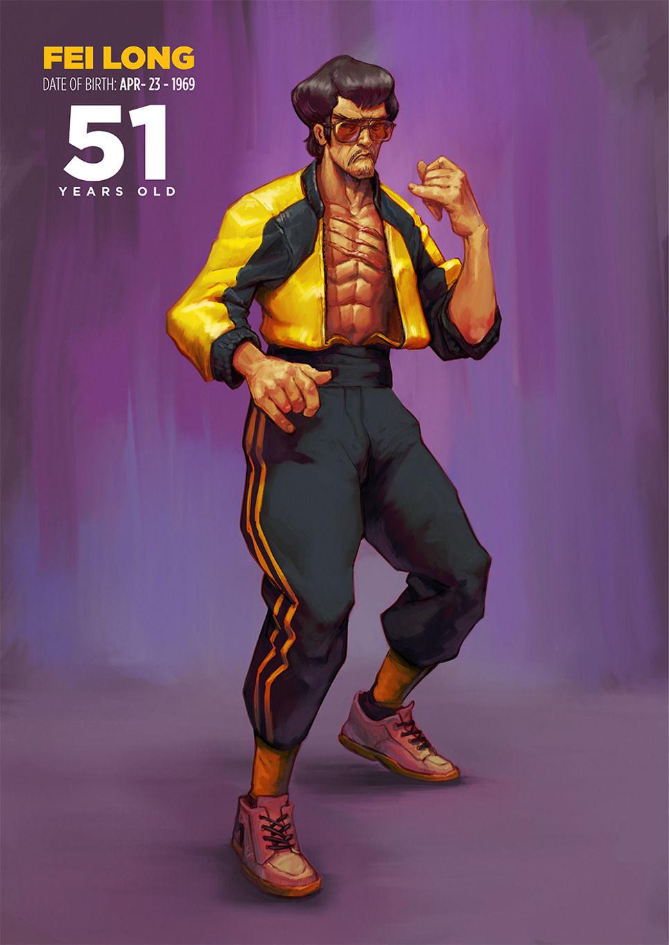 Fei Long de Street Fighter