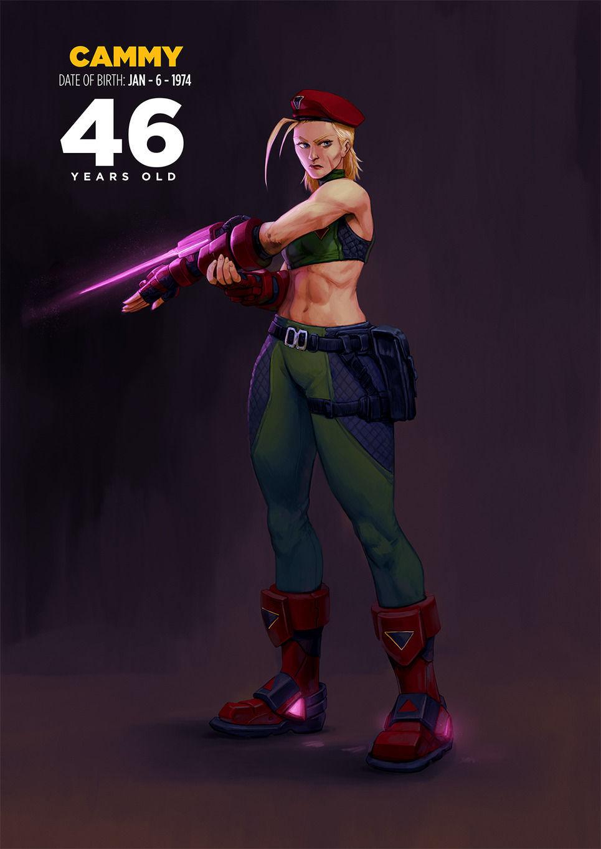 Cammy de Street Fighter