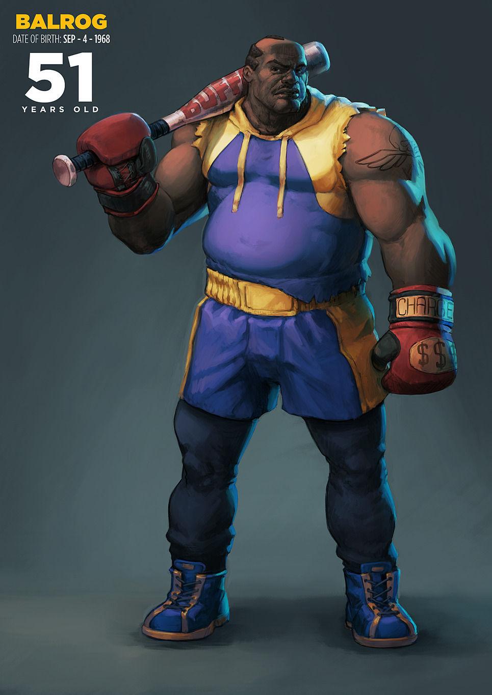Balrog de Street Fighter