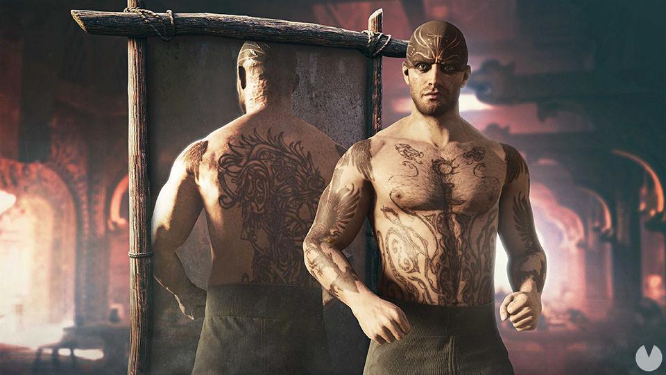 Assassins Creed Valhalla nuevos tatuajes