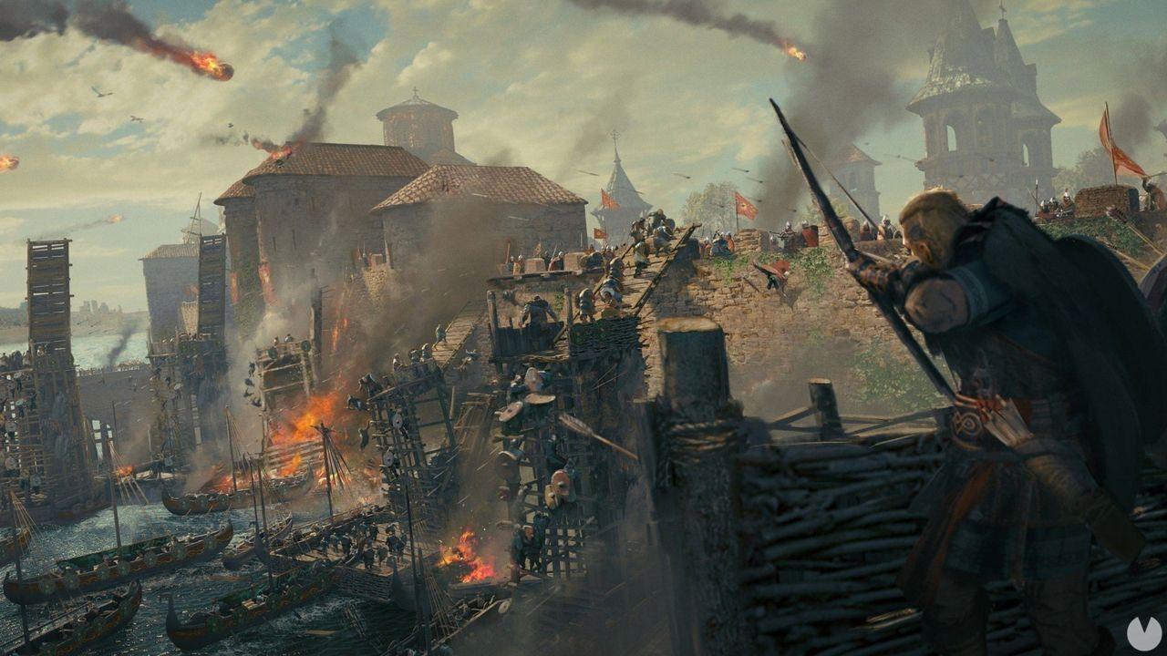 Assassin's Creed Valhalla añade dificultad Pesadilla y más saqueos fluiviales
