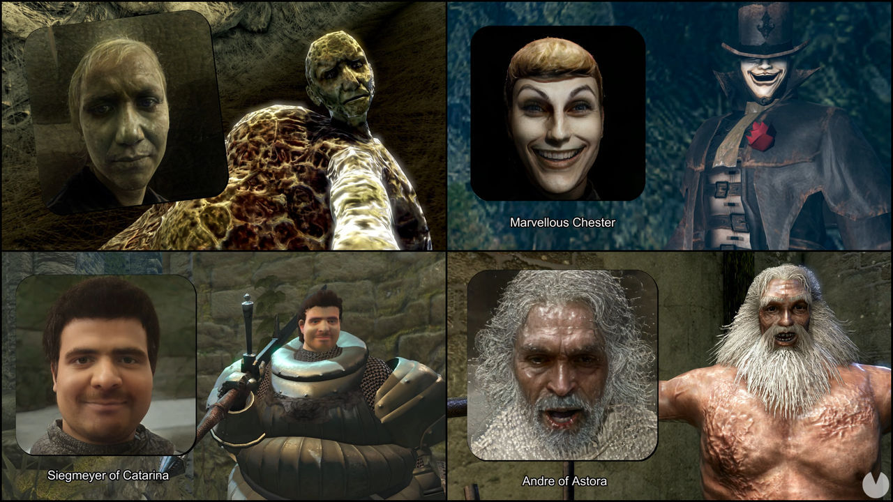 Los personajes de Dark Souls, transformados en personas 'reales' por una IA
