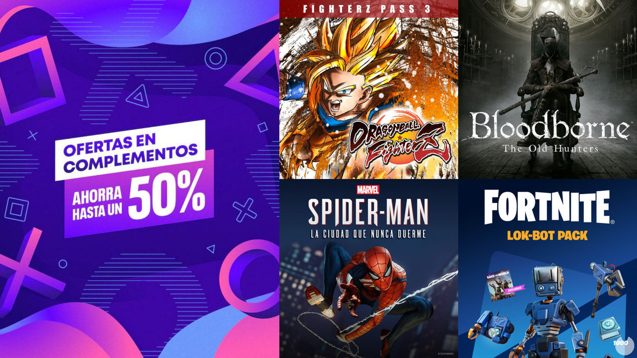 PS Store arranca sus ofertas en DLC y pases de Fortnite, Assassin's Creed y más