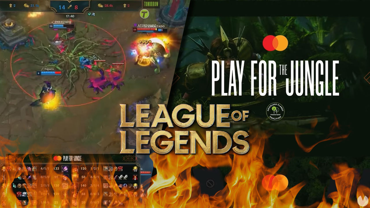 League of Legends: Riot quema la Grieta para concienciar sobre los incendios