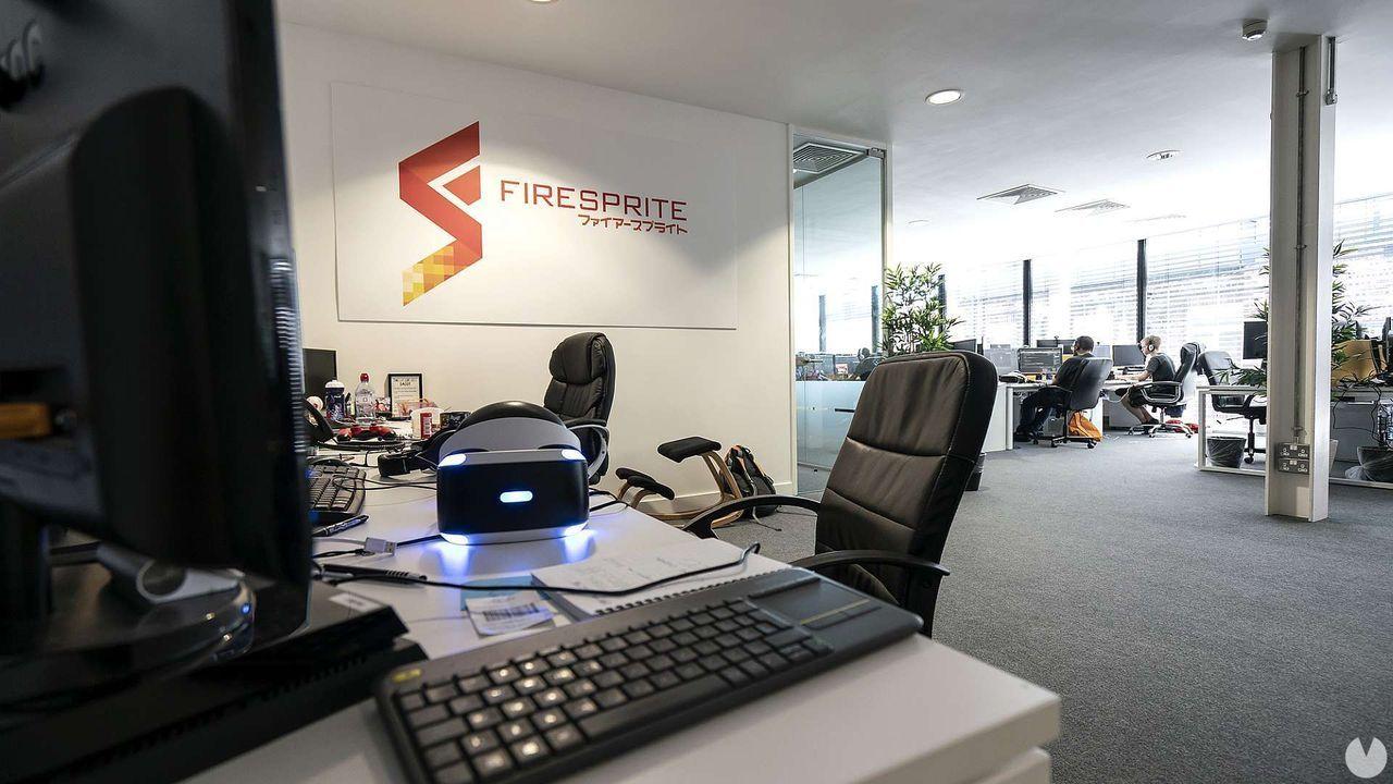 Oficinas de Firesprite en Liverpool.